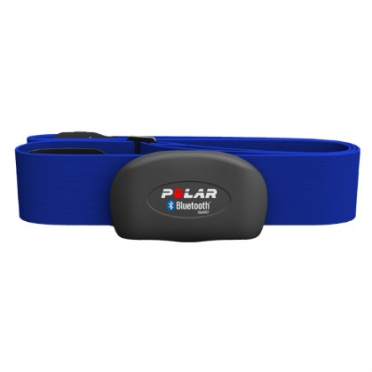 Polar H7 Bluetooth heart rate sensor blue with Polar Beat
